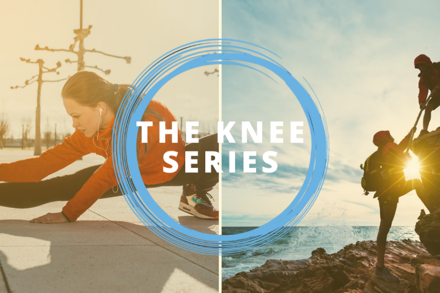 The Knee Series header
