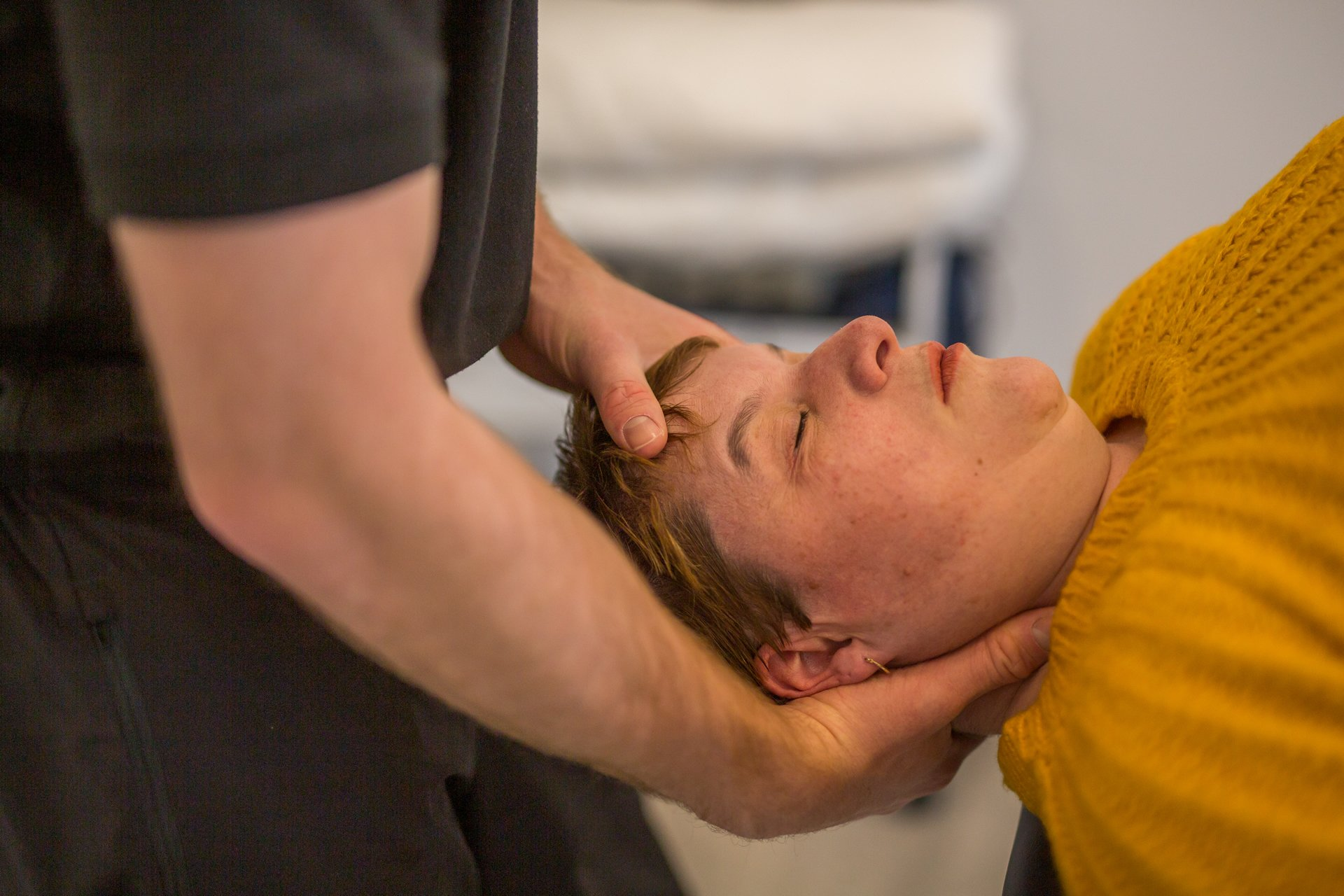 Professional physiotherapy adjustment